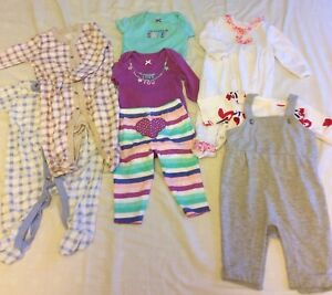 Baby girl clothing 3-6 months