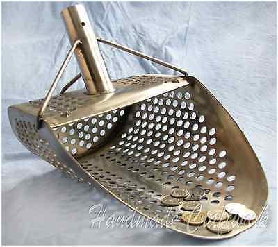 *Alligator* Beach Sand Scoop Metal Detecting Hunting Tool 1.5mm Stainless Steel
