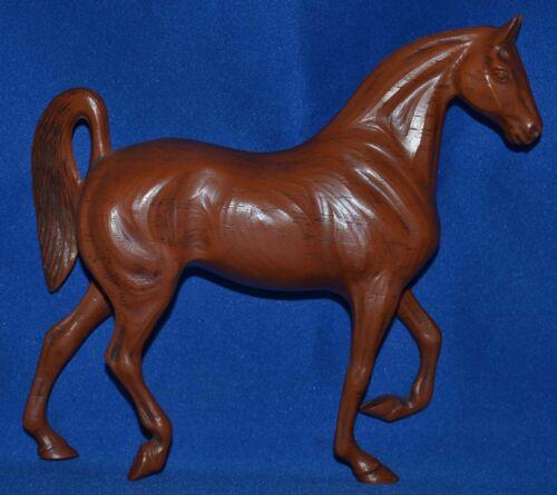 "Hartland Horse~1965-67~Walnut Woodcut 7"" Saddlebred Mare~Wood cut~RARE"