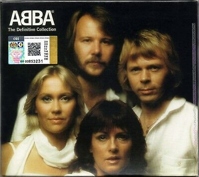 ABBA The Definitive Collection 2001 MALAYSIA DELUXE 2 CD + SLIPCASE FREE SHIP
