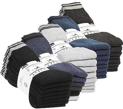 32 Paar Damen Herren Socken Freizeitsocken Tennissocken Arbeitssocken Frottee