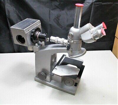 Reichert Metavar Trinocular Microscope