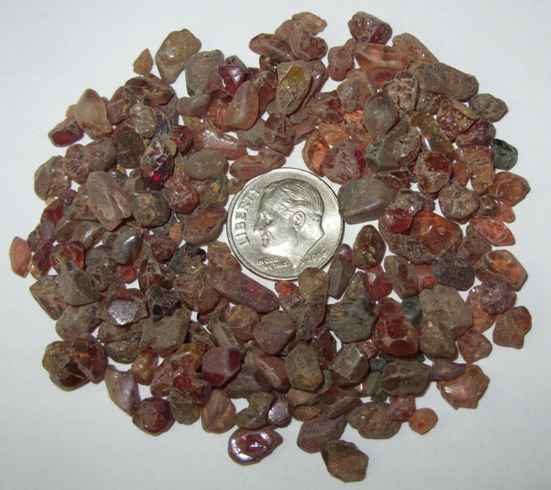 250ct Lot Valuable Old Mined Cambodian Zircon Facet Rough REDUCED!!