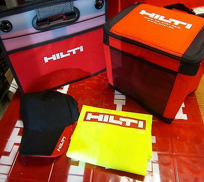 Hilti Exclusive Accessories Kit Organizer Lunchbag Hat Vest Brand New