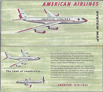 1960 Era American Airlines Brochures  Tickets   Paperwork Group