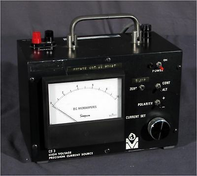 Transkinetic Harvard Cs-3 Cs3 Hv Precision Current Source Dc Microamperes
