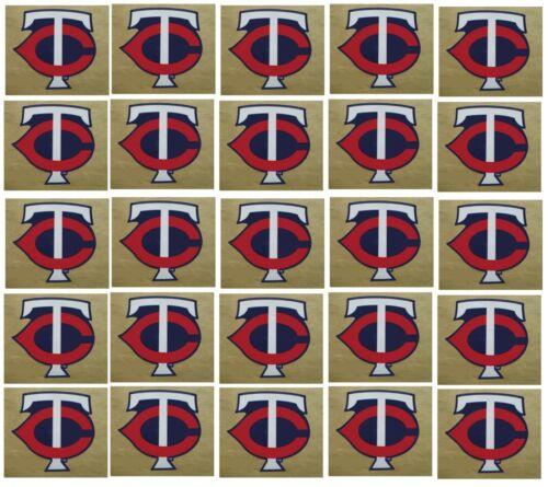 Minnesota Twins Baseball Sticker Set Of 25 Team Logo Design Made In The Usa