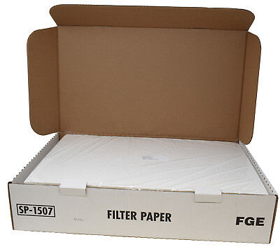 """Pitco SP-1507 100 Sheets Fryer Cooking Oil Filter Paper 19"""" Commercial Universal"""