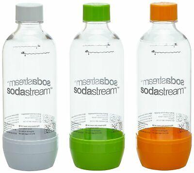 SodaStream Pet-Flaschen 3er Pack, für Easy, Cool, Power, Jet, Source, Play NEU