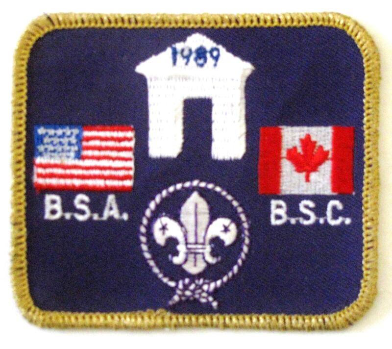 International Camporee 1989 Pocket Patch  BSA  BSC