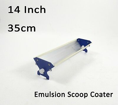 1pc Screen Printing Aluminum Emulsion Scoop Coater 1435 Cm Manual Sizing Tool