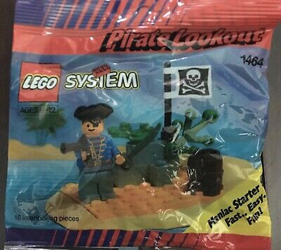 Vintage Lego System Pirate Lookout 1464 (Unopened)