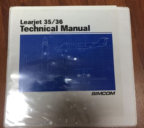 Learjet 35/ 36 Technical Manual SIMCOM