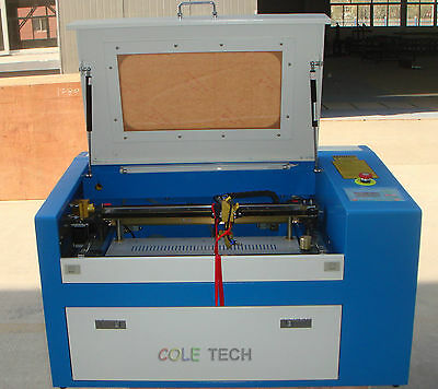 60w Co2 Laser Engraver With Honeycomb Table And Electronic Controlled Platform