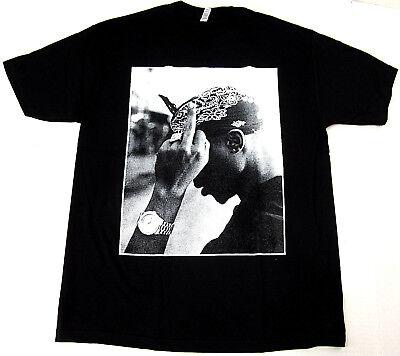 2Pac T-shirt TUPAC SHAKUR Rap Hip Hop Tee Adult Black Tee New (Hip Hop Tee T-shirt)