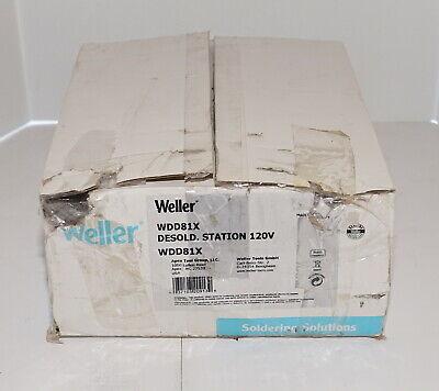 Weller Wdd81x Digital Hot Air Desoldering Rework Station W Dxv80 Iron 95w