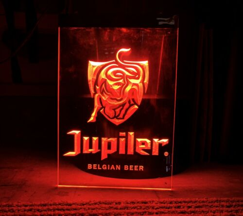 JUPILER BELGIAN BEER LED NEON LIGHT SIGN 8x12