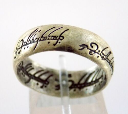 The Lord of the Rings Sterling Silver Ring Isildurs Bane 925 Size 9.75 LOTR 5.5g