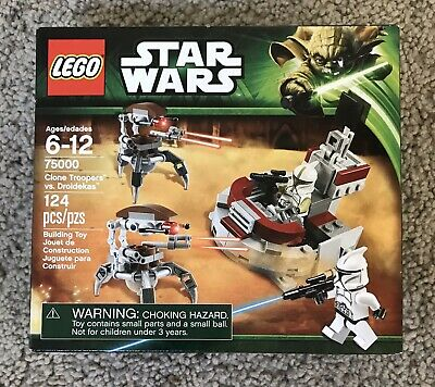 NEW Lego Star Wars Clone Troopers Vs Droidekas 75000
