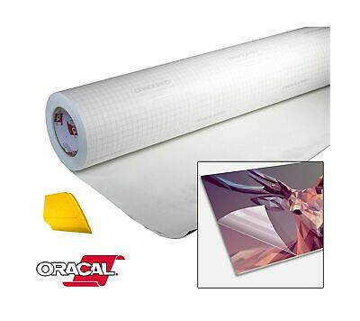 Oracal High Gloss Self-adhesive Clear Lamination Vinyl Roll For Die-cutter An...
