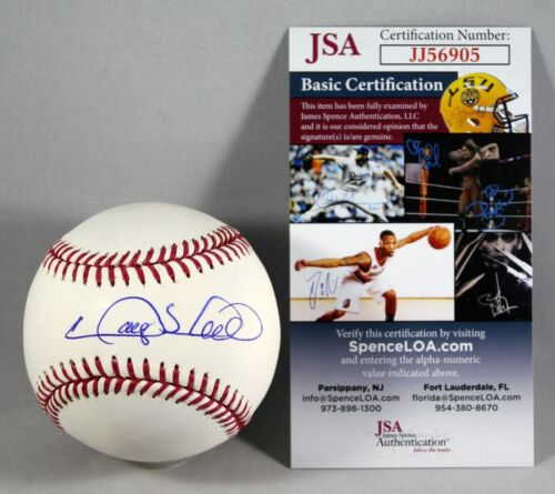GARY SHEFFIELD SIGNED OFFICIAL MAJOR LEAGUE BASEBALL NEW YORK YANKEES +JSA COA