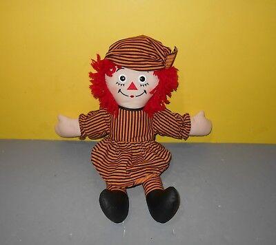 2002 Raggedy Ann Halloween Pirate Costume Doll - 15