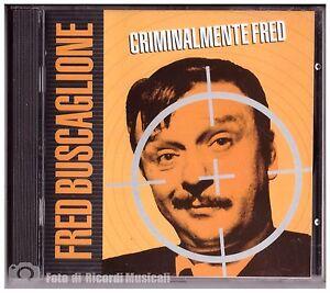 FRED-BUSCAGLIONE-CRIMINALMENTE-FRED-NUOVO-NON-SIGILLATO-Timbro-Siae