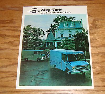 Original 1969 Chevrolet Step-Van & Forward Control Chassis Sales Brochure 69  Chevrolet Forward Control Chassis