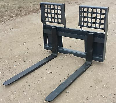 New 48 Hd 5500 Lb. Pallet Forks Free Shipping Skid Loader Steer Attachment