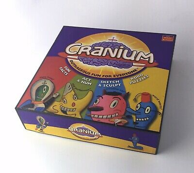 Cranium Outrageously Fun Award Winning Board Game  For Adult and Teens