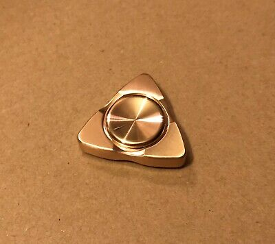 Copper Bronze Color Tri Fidget Spinner Triangle (Copper Bronze Color)