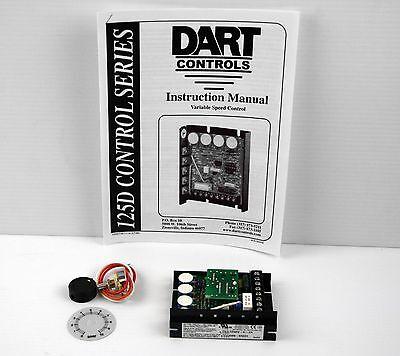 Dart Variable Speed Control Leeson Dc Motors  P 125dv-c-2a