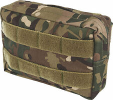 HMTC Camo Zip Fastening First Aid MTP Match Small Utility Molle Pouch