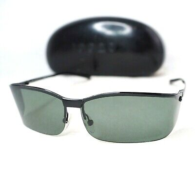 GUCCI sunglasses visor wrap gg1734 black gray vintage unisex shield glasses