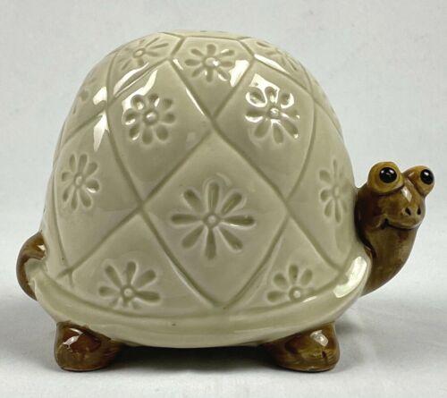 OMC Japan Vintage Retro Ceramic Turtle Piggy Bank Super Cute