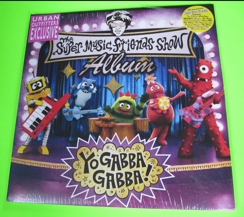 Yo Gabba Gabba RARE NEW SEALED Vinyl LP Record Super Music Friends Show Album