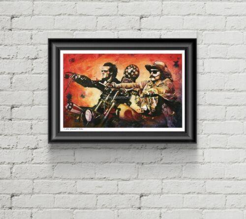 Easy Rider / Harley Davidson - Art Print / Poster