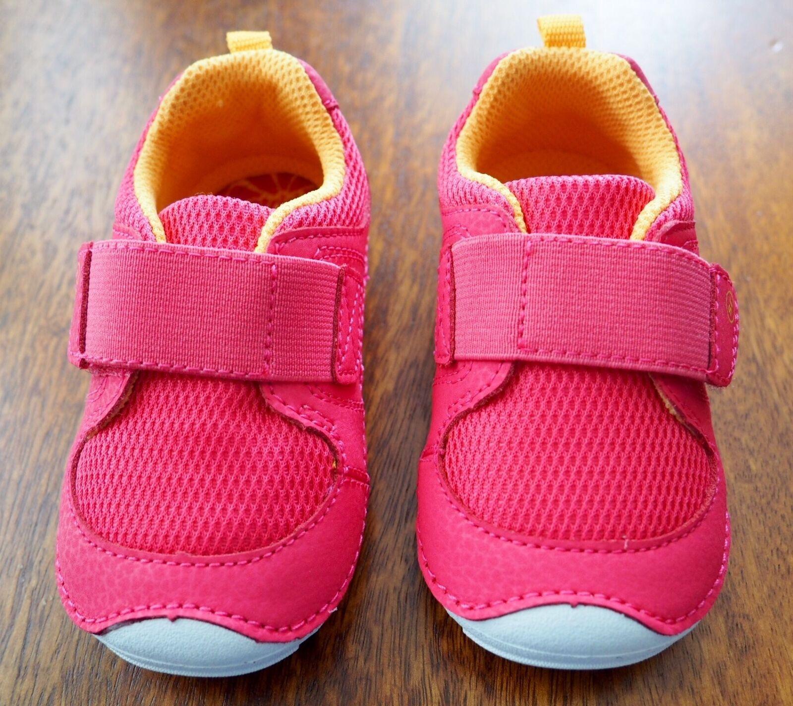 NEW STRIDE RITE Soft Motion Kids Ripley Sneaker Girl - Pink