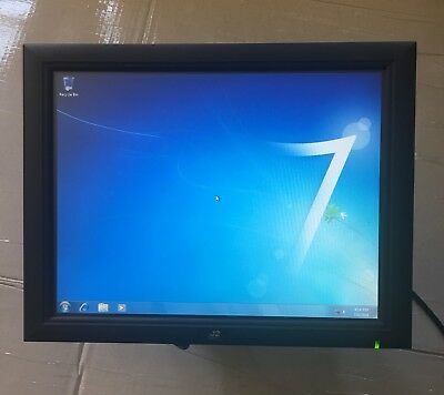 J2 615 Pos System W Intel Atom 1.6ghz 120gb Hdd 2gb Ram Win 7 Pro 615 Rt