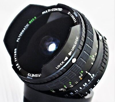 Sigma 16mm f/2.8 Fisheye Lens Filtermatic for Nikon F Mount Excellent++