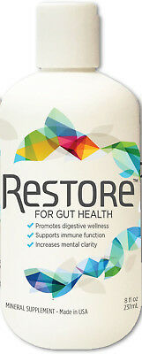 Restore 4 Life Trace Mineral   Lignite Liquid For Improved Wellness And Digestio
