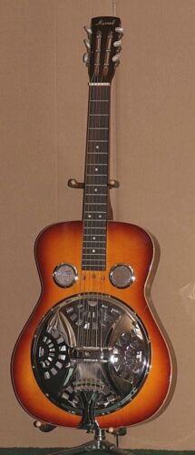 Vintage Morrell Resonator Lap Guitar Sunburst Model  082289