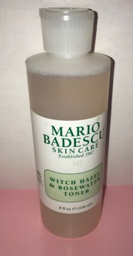 witch hazel and rosewater toner 8 oz