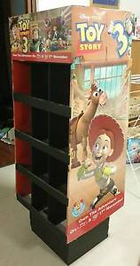 Toy Story 3 DVD/BluRay Shop Display - Perfect for child's storage Beeliar Cockburn Area Preview