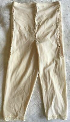 Vintage Underscore Firm Control Long Leg Pants Liner  Style 129-630