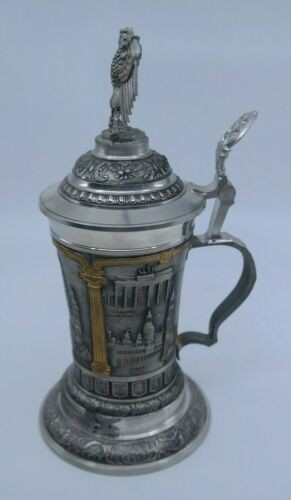 GERMANY 50th ANNIVERSARY PEWTER STEIN