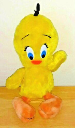 Looney Tunes Tweety Bird Plush Stuffed Animal Mighty Star 1971 Warner Brothers