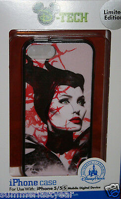Maleficent Disney ParksD-Tech Fitted Phone Case For iPhone 5 5s Limited Edition