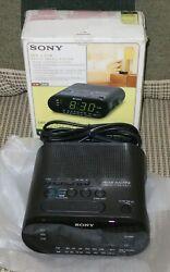 NEW Sony ICF-C218 Dream Machine AM/FM Clock Radio - Priority Mail Shipping!