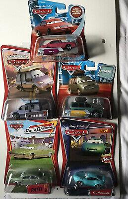 DISNEY PIXAR CARS 5 Car Lot Vern Patti Van Chase Leroy Traffic Kori Turbowitz